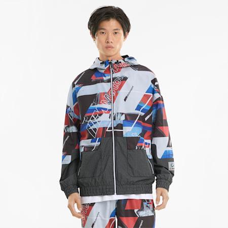 BMW M Motorsport Street Printed Men's Jacket, Puma Black, small