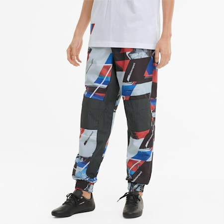 Pantalones urbanos BMW M Motorsport estampados para hombre, Puma Black, small