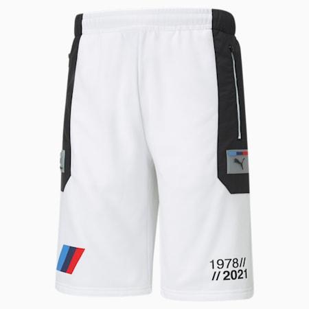 Short molletonné urbain BMW M Motorsport, homme, Blanc Puma, petit