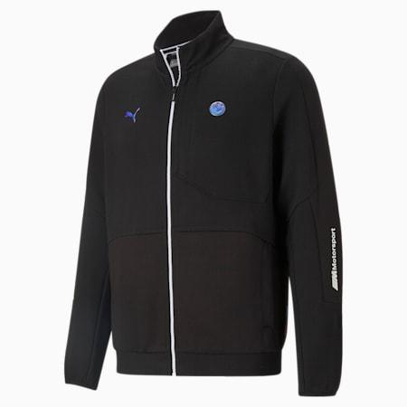 BMW M Motorsport RCT Men's Sweat Jacket, Puma Black, small-IND