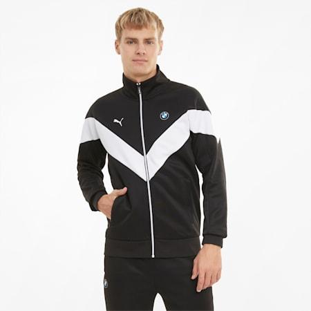 BMW M Motorsport MCS Men's Track Jacket, Puma Black, small