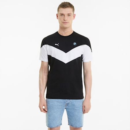 BMW M Motorsport MCS Herren T-Shirt, Puma Black, small