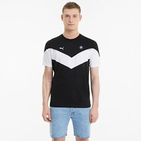 Męski T-shirt BMW M Motorsport MCS, Puma Black, small