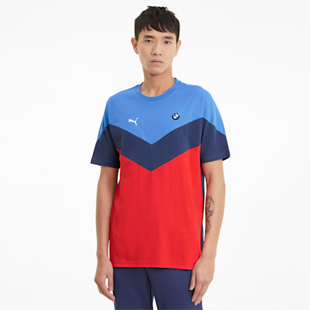 BMW M Motorsport MCS Herren T-Shirt, M colors, small
