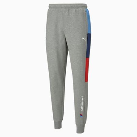 Pantalones deportivos BMW M Motorsport T7 para hombre, Medium Gray Heather, pequeño