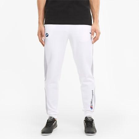 BMW M Motorsport Men's Sweatpants, Puma White, small