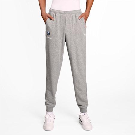 BMW M Motorsport Essentials Men's Sweatpants, Medium Gray Heather, small-IND
