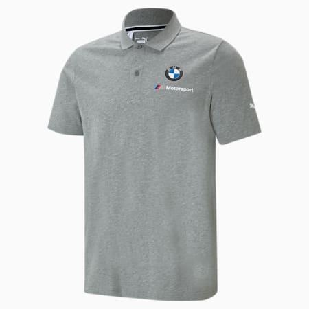 Polo essentiel BMW M Motorsport, homme, Gris bruyère moyen, petit