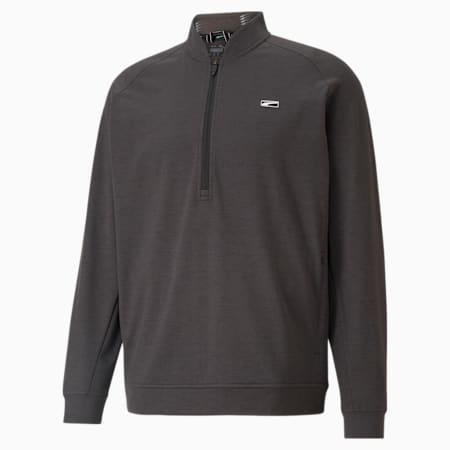 클라우드 스판 무빙 데이 1/4 집업 긴팔 티셔츠/Cloudspun Moving Day 1/4 Zip, Puma Black, small-KOR