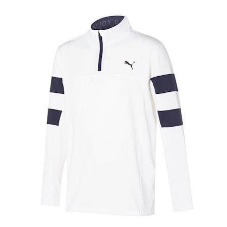 Torreyana 1/4 Zip/Torreyana 1/4 Zip, Bright White-Navy Blazer, small-KOR