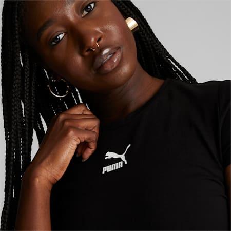 T-shirt ajusté Classics, femme, Puma Black, petit