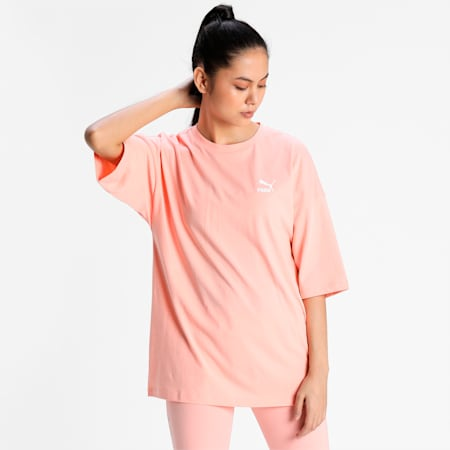 Classics Women's Relaxed T-shirt, Apricot Blush, small-IND