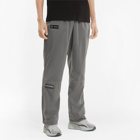Pantalones de tejido plano Street Mercedes F1 para hombre, Puma Black, small