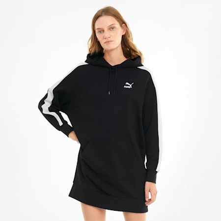 Iconic Hooded Women's Dress, Puma Black, small