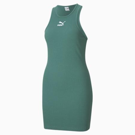 Classics Women's Summer Dress, Blue Spruce, small-GBR