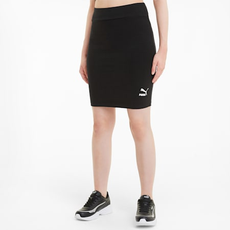 Classics Women's Tight Skirt, Puma Black, small