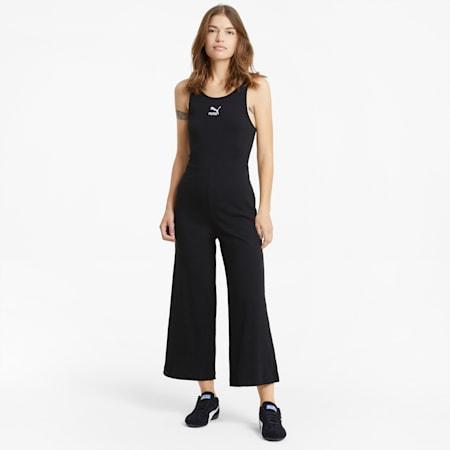 Classics Ribbed Women's Jumpsuit, Puma Black, small-GBR