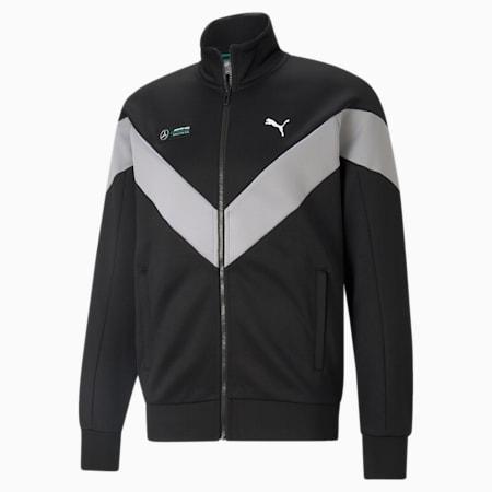 Mercedes F1 MCS Men's Track Jacket, Puma Black, small