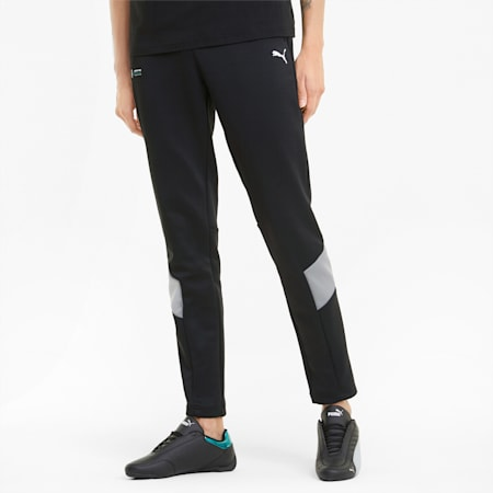Mercedes F1 MCS Men's Track Pants, Puma Black, small