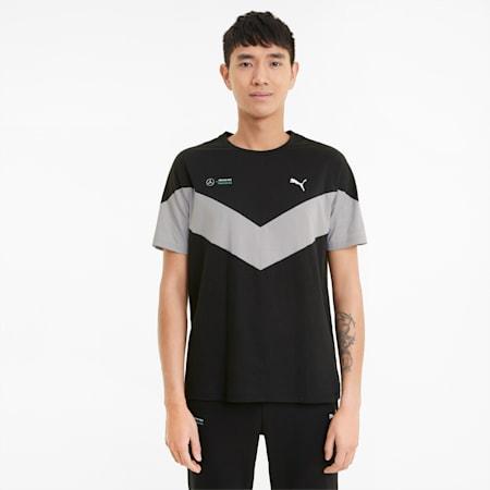 Camiseta MCS Mercedes F1 para hombre, Puma Black, small
