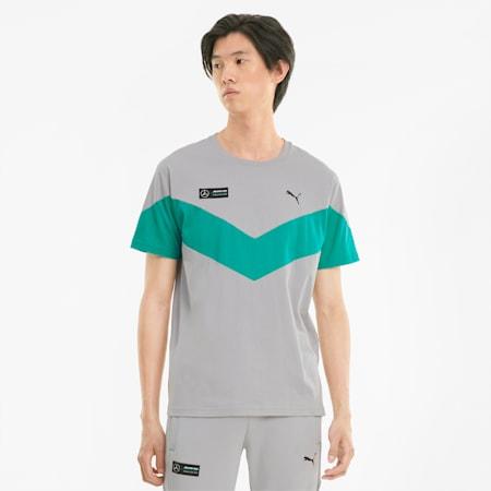 T-shirt Mercedes F1 MCS homme, Mercedes Team Silver, small