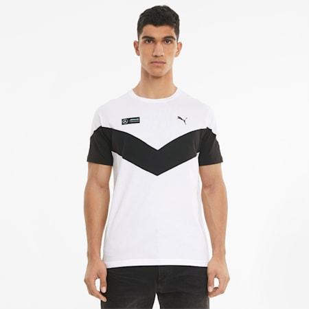 T-shirt Mercedes F1 MCS homme, Puma White, small