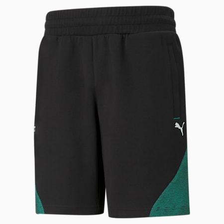 Mercedes F1 Men's Sweat Shorts, Puma Black, small-IND