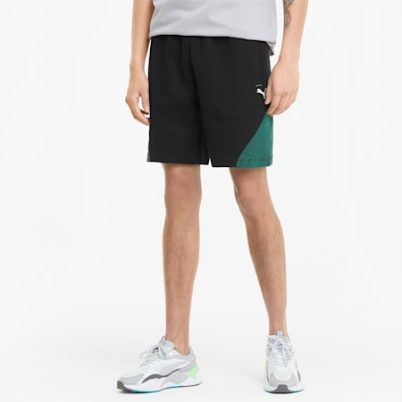Mercedes F1 Men's Sweat Shorts, Puma Black, small