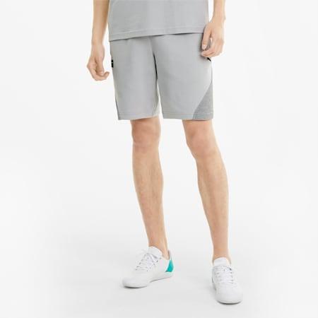 Shorts in felpa Mercedes F1 uomo, Mercedes Team Silver, small