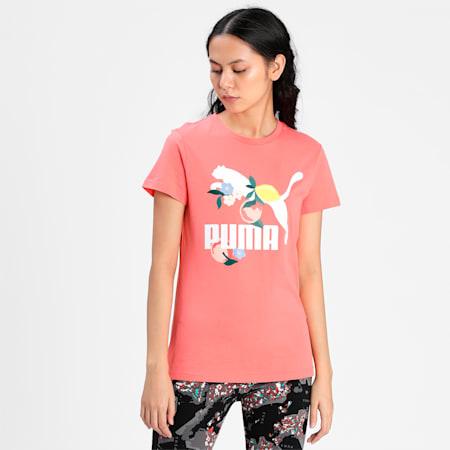 CG Graphic Women's  T-shirt, Georgia Peach, small-IND