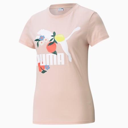 T-shirt graphique Classics Graphics, femme, Nuage rose, petit