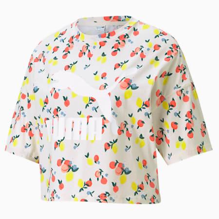 CLASSICS グラフィックス ボーイフレンド Tシャツ ウィメンズ, Eggnog, small-JPN