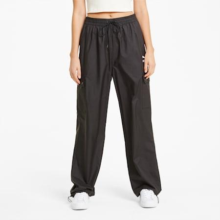 Classics Women's Cargo Pants, Puma Black, small-GBR