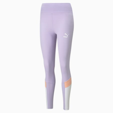 Iconic MCS Women's Leggings, Light Lavender, small-IND