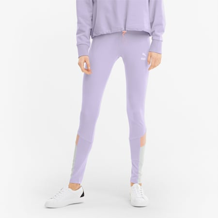 Iconic MCS Women's Leggings, Light Lavender, small