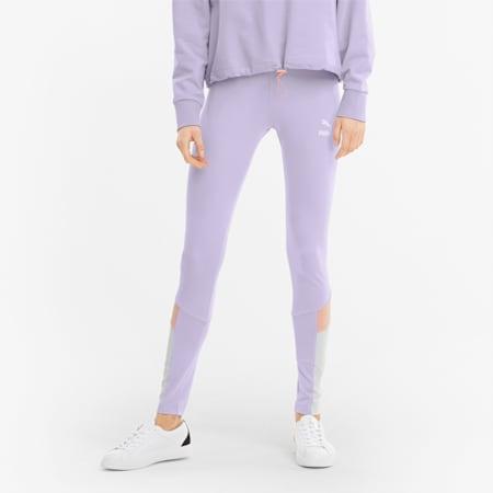 Leggings Iconic MCS donna, Light Lavender, small