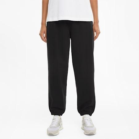 Downtown Women's Sweatpants, Puma Black, small-SEA