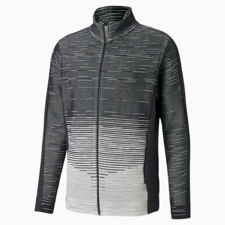 Męska bluza Porsche Design evoKNIT Midlayer, Glacier Gray, small