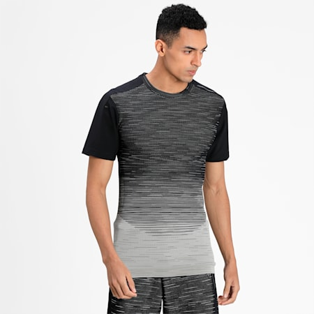 Porsche Design EvoKNIT Men's  T-shirt, Glacier Gray, small-IND