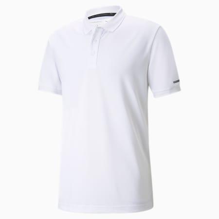 Porsche Design Men's Polo Shirt, Puma White, small