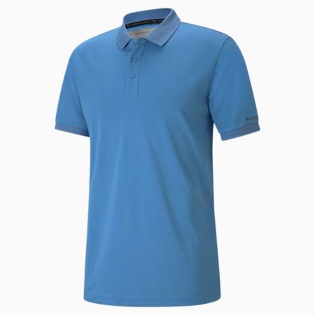 Porsche Design Men's Polo Shirt, Parisian Blue, small-GBR