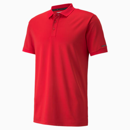 Camiseta tipo polo Porsche Design para hombre, Urban Red, pequeño
