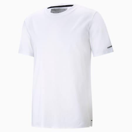 Męski T-shirt Porsche Design Essential, Puma White, small