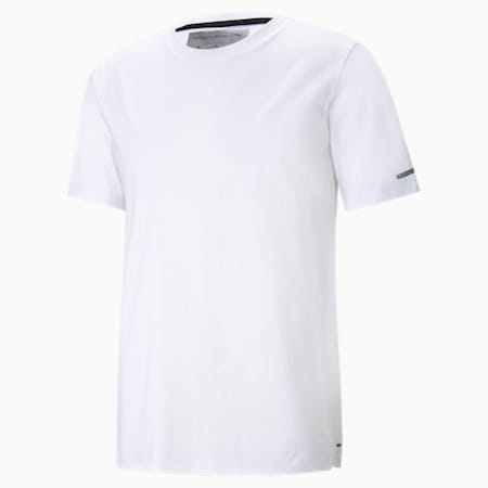 ポルシェ デザイン エッセンシャル Tシャツ, Puma White, small-JPN