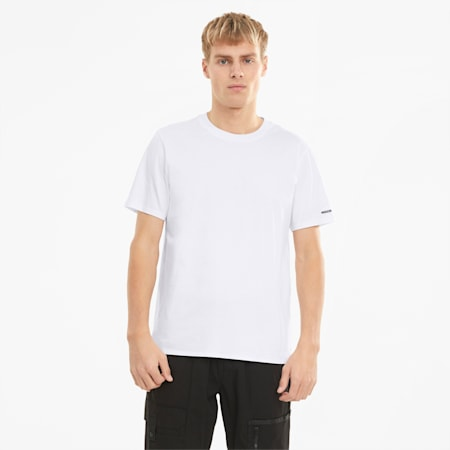 Porsche Design Essential Herren T-Shirt, Puma White, small