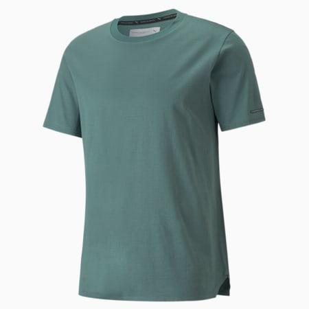 Męski T-shirt Porsche Design Essential, Silver Pine, small