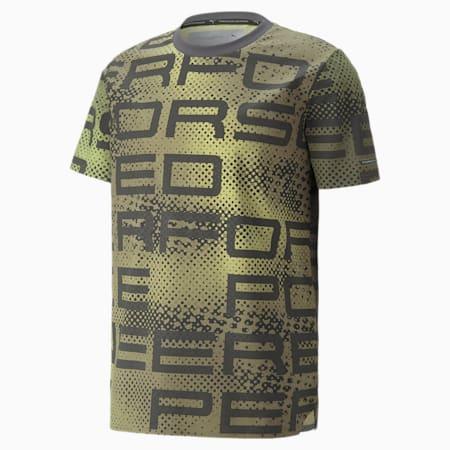 T-shirt con grafica Porsche Design uomo, Asphalt, small