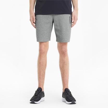 Porsche Design Men's Sweat Shorts, Medium Gray Heather, small