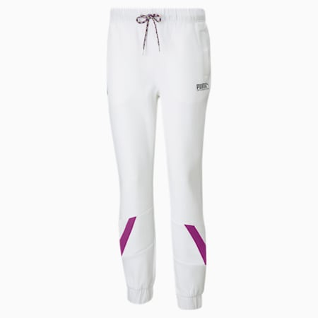 INTL Game Women's Double Knit Track Pants, Puma White, small