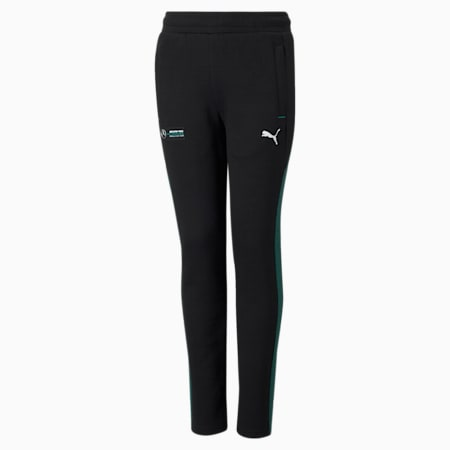 Mercedes F1 Youth Sweatpants, Puma Black, small